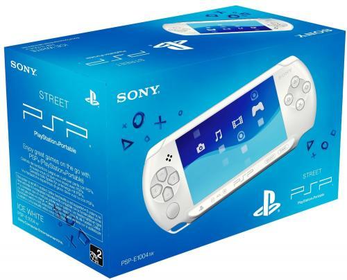 [ MM Krefeld ] Sony Playstation Portable PSP E1000  weiß 59€