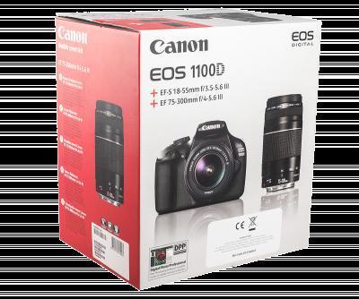 [Lokal] Saturn Bremen Canon EOS 1100D Kit 18-55 mm + 75-300 mm für 379 €