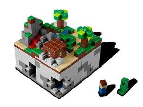 Lego Minecraft Mini World inkl. exklusivem Legends of Chima Poster  für 38,49 € € @ Lego Shop
