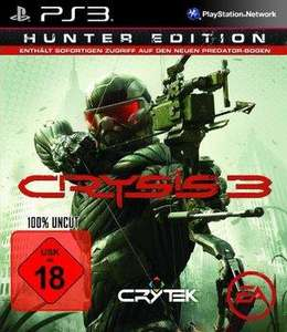 Crysis 3 – Hunter Edition (Xbox 360) für 32,97 €, (PS3) für  33,97 € @ Amazon