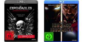 Iron Man 1 + 2 Box und The Expendables Directors Cut für je 5 Euro [Saturn Berlin lokal]