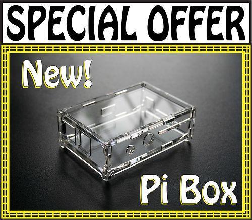 Original Raspberry P -> Pi Box ( Case , Gehäuse für Raspberry Pi )