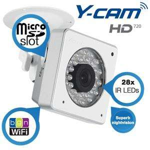 [IBOOD]Y-Cam Cube HD720 WiFi-N-Kamera mit leistungsstarker Nachtsicht für 175,90€ inkl. Versand