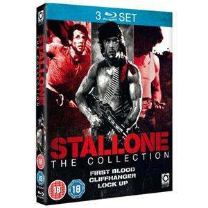 [Blu-ray] Stallone Triple (First Blood / Cliffhanger / Lock Up)  für 8,78 € @PLAY.COM