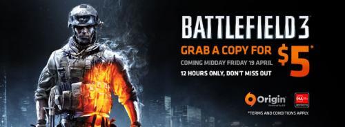 Battlefield 3 als Mystery Deal für 3,94€ direkt über Origin