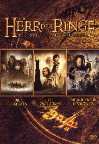 Der Herr der Ringe - Die Spielfilm Trilogie [3 DVDs] bei Amazon