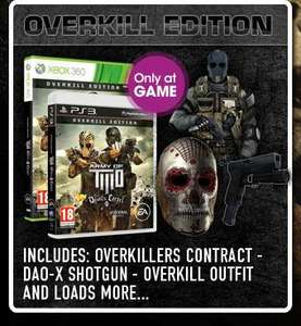 [PS3 & XBOX360] Army of Two: The Devil's Cartel GAME Exclusive Overkill Edition
