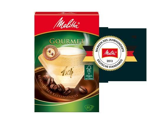 [FaceBook] 3x Melitta Gourmet Filtertüten gratis # 500 mal / Tag