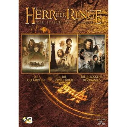 Der Herr der Ringe - Die Spielfilm Trilogie [3 DVDs] und Der Herr der Ringe - Die Spielfilm Trilogie (Extended Edition) [Blu-ray] bei Media Markt