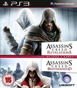 [PS3] Assassins Creed Double Pack - Brotherhood & Revelations (UK) für 9,08€ inkl. Versand