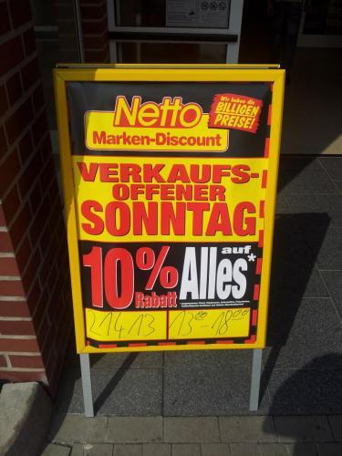 [Lokal]Am So, 21.04.2013 beim netto Marken-Discount Vöhrum 10% auf alles
