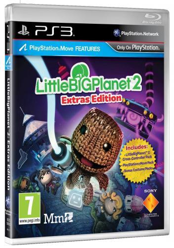 LittleBigPlanet 2 Extras Edition (PS3) für 16,13 € inkl. Versandkosten @ Shopto
