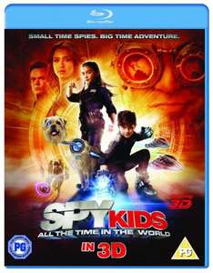 [Blu-ray 3D] Spy Kids 4: All The Time In The World für 6,82 € inkl. Versand @ Shopto