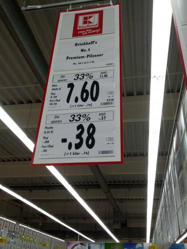 [lokal?] Kaufland Dortmund - Brinkhoffs 7.60, Veltins 8.80