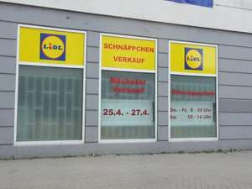 [LOKAL - Worms] 1 x Gratis Baggefutter @ LIDL Schnäppchen-Verkauf | 25.04 - 27.04 - Alles ab 1 € - SONDERABVERKAUF
