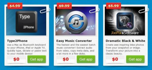 [MAC] 3 kostenlose Apps bei Appyfriday - Type2Phone, Easy Music Converter