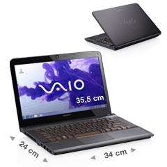 "VAIO E14 mit i3, 8GB, 1600x900, Win 7, USB 3.0 im ""Sony Outlet"""