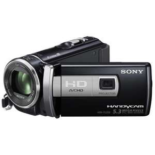 SONY HDR-PJ200E Full HD Flash Camcorder mit eingebautem Projektor