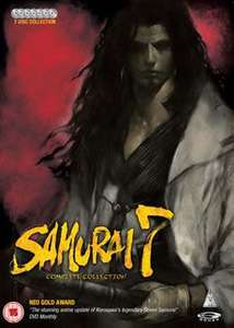 [7 DVDs] [Anime] Samurai 7