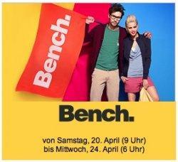 Großer Bench-Sale ab Samstag um 9 Uhr @Vente Privee