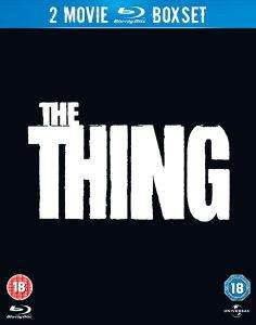 [ZAVVI][Blu-Ray] The Thing 1982 und 2011 dt. Ton (UK)