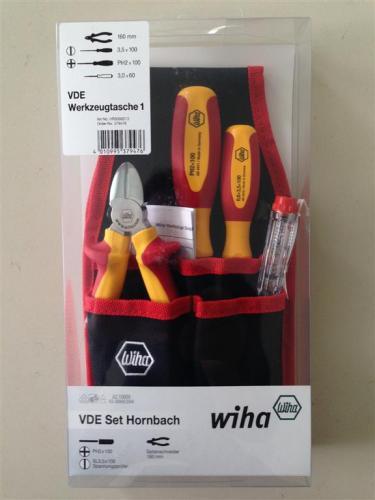 Wiha VDE Werkzeugtasche 1 Set Hornbach [Lokal bei Hornbach]