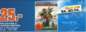 (Saturn Tübingen) Crysis 3 - Hunter Edition (PS3) für 25,00 €