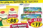 [ LIDL ] 3 Packungen (18 Becher) Danone Fruchtzwerge 1,31 Euro am 20.04.13