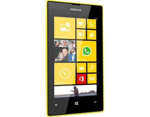Lumia 520 - MeinPaket - cyan, gelb und weis