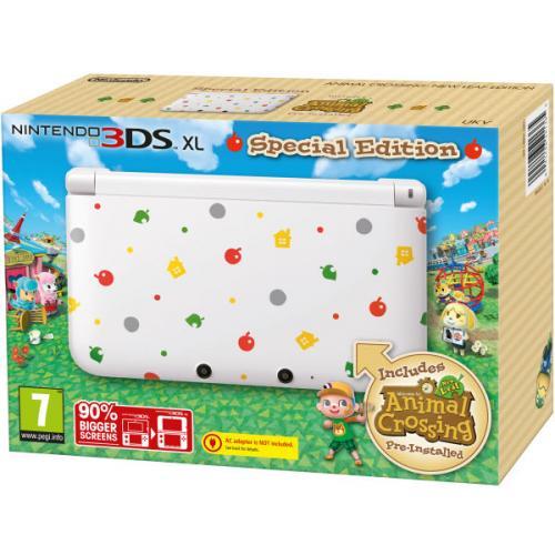 Nintendo 3DS XL Special Edition - Inklusive Animal Crossing, für 119,99£ = 140€ bei Zavvi, Vorbestellung für Oktober, VKfrei, Vergleichspreis ca. 200€