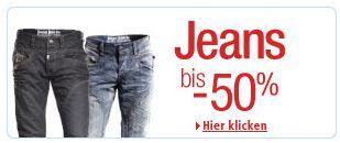 Amazon - Jeans bis 50% reduziert