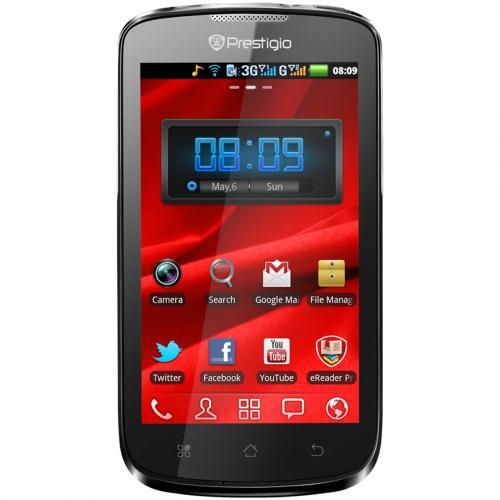 """Prestigio MultiPhone 4020 Duo Schwarz Smartphone 4,0"""" Prozessor 1GHz für 89,90€   notebooksbilliger.de versandkostenfrei"""