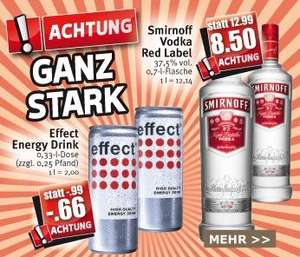 [Combi/Famila NW/Kaiser's] Smirnoff Red Label No.21 0,7l - 8,50€