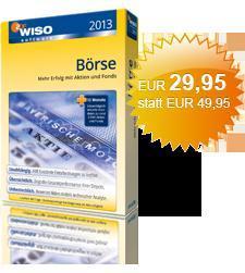 WISO Börse 2013  Mehr Erfolg mit Aktien und Fonds! 40% Ersparnis