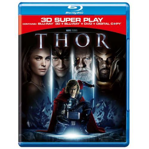 Thor: Super Play (3D Blu-ray, 2D Blu-ray und Digital Copy) für 17,49 € @ Zavvi