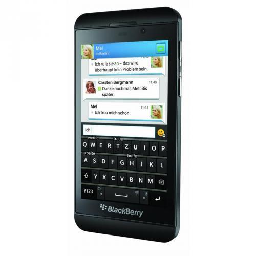 BlackBerry z10 als t-mobile Variante zu 479,89 Euro inkl. Versand