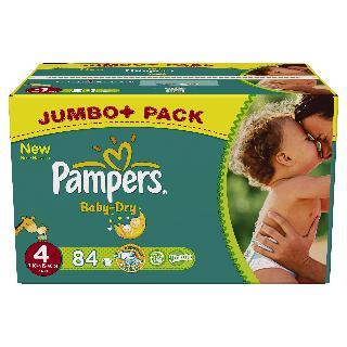 Pampers Höschenwindeln Jumbo Pack im Angebot bei Marktkauf