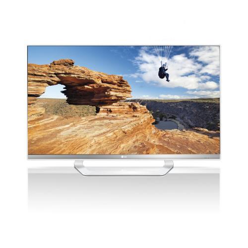 LG 47LM649S Cinema 3D 119 cm (47 Zoll) LED-Backlight-Fernseher, Energieeffizenzklasse A+ (Full HD, DVB-T, DVB-C, DVB-S/S2, CI+, Smart TV, WLAN, 4x HDMI) weiß/silber @AMAZON