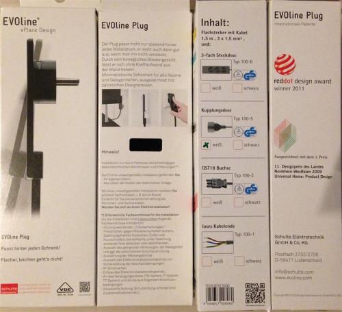 Schulte Elektrotechnik 3-fach Steckdosenleiste mit Flachstecker (reddot design award winner 2011) € 17,95 statt € 21,95 bei Conrad