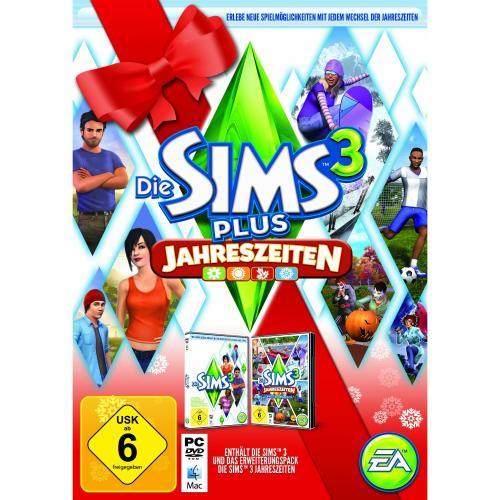 Die Sims 3 + Jahreszeiten (PC/Mac) für 26,97 € @ Amazon