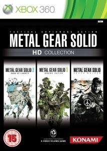 (UK) Metal Gear HD Collection [Xbox 360] für 15.75€ @ Thehut