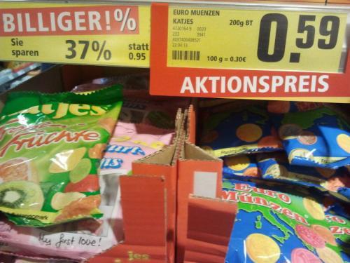 Katjes @REWE für 0,59€.