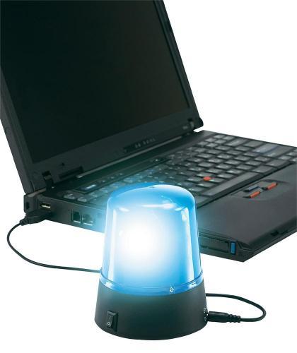 Polizeileuchte (USB) + 4GB Corsair SO-DIMM (NotebookRAM) Modul für 26,11€