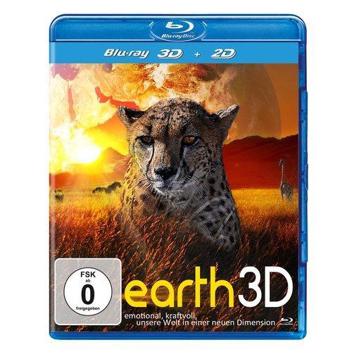 Earth 3D für nur 5,89 EUR inkl. Versand [3D Blu-ray]