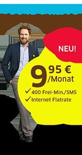 Fonic Smart S (400 Min/SMS) + 200 MB Internet OHNE Laufzeit