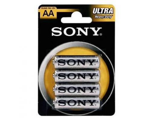 12er Pack SONY ULTRA Heavy Duty MIGNON AA Batterien für 2,99€ bei Meinpaket inkl. Versand