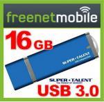 freenetMobile + 16 GB SuperTalent Express Drive Duo USB 3.0 kostenlos für nur 4,95€