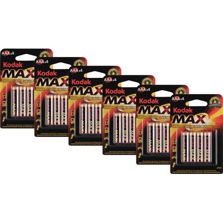 24er Kodak AA/AAA Batterien Pack für 4,99 € / bei ZackZack