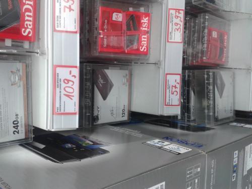 (Lokal?) PNY SSD 240gb XLR8 SATA 3 @MediaMarkt Köln Arcaden