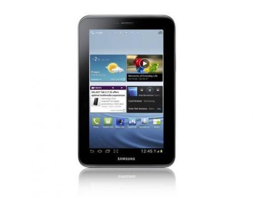 MP (Returbo): Samsung Galaxy Tab 2 7.0 8GB WiFi (Neuwertig/Refurbished von Samsung) schwarz und weiss